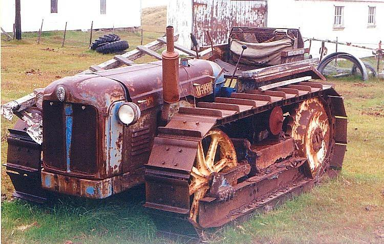 Fordson Major bulldozer